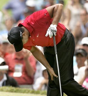 Tiger Woods Injured