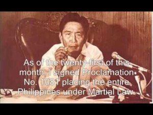 Marcos-Martial Law