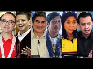 PH VP Candidates-2016