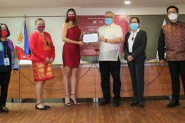 Catriona Gray, DTI's OTOP Philippines Ambassador