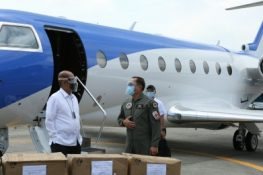 New Gulfstream G280 arrives at Clark Air Base to join PAF's 220th Airlift Wing