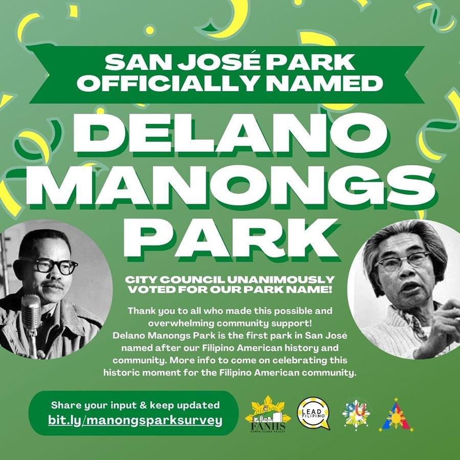 San Jose honors Filipino farmworkers with Delano Manongs Park