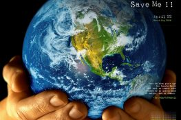 Restore our earth so that we can live