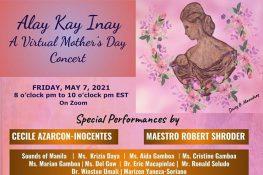 "UPAAA to hold ""Alay Kay Inay"" Virtual Concert on May 7"